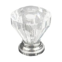 Wholesale S5Q High Quality Drawer Cabinet Furniture Handle Crystal Glass Door Knobs AAAFYU