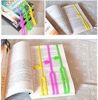 Wholesale 1000 Hot Silicone Bookmarks Note Pad Memo Stationery Book Mark Novelty Funny Gift