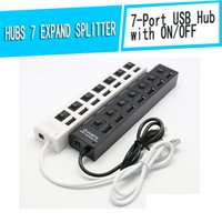 Wholesale Generic Port USB Hub with ON OFF Factory Outlet USB2 with separate switching HUB expand splitter hole USBhub hub