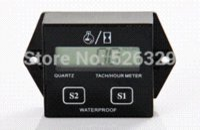 Wholesale Waterproof RPM Tachometer Hour Meter for Motocross ATV Quad Bike Jet Ski Motorcycle tachometer auto meter volt