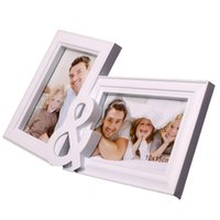 beautiful photo gifts - High quanlity Beautiful photo frame rack one piece combination photo frame swing sets child photo frame wall mounted new house gift