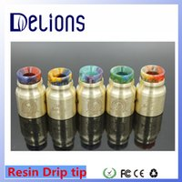 bearing products - Delions Hottest And Newest Epoxy Resin SS DRIP TIP Vape High Quality Products Wide bore Resin drip tip By Delionstech