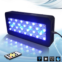 Wholesale China LED aquarium light w dimmable programmable led aquarium lighting for reef coral fish