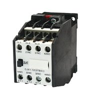 Wholesale mm DIN Rail Mounted Pole NO NC V HZ Coil AC Contactor CJX1