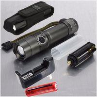 Wholesale Elfeland Lumen XM L T6 LED Flashlight Head Torch Light Lamp Zoomable