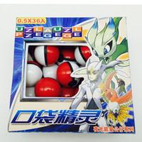 Wholesale Pokémon Go pieces per box Pokeball Free Random Figures Anime Action Figures Toys Pokeball Mini Model