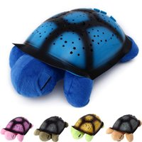 animal projections - Children new gift Turtle Night Light USB Music Projector Lamp Night Sky Constellations Songs star turtle projection lamp