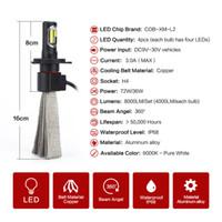 toyota headlights - 9V V W W K LM S7 H4 Car LED Hi Lo Headlight Bulbs Conversion Kit Headlamp IP68 Waterproof CP7556