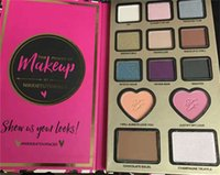 1 bar of chocolate - New arrival The Power of Makeup by Nikkie Tutorials Eyeshadow Too Chocolate Bar Faced Colors Heart Free ship