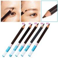 best buy brushing - Best Buy Professional Waterproof Eyebrow Pencil Brow Brush EyeLiner Makeup Cosmetic Tools Colors IB12