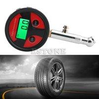 Wholesale New Car Truck Motorcycle Tire LCD Air Pressure Gauge Digital Meter Vehicle Tester
