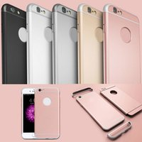 Wholesale Newest Removable in Ultra Slim Hybrid Hard PC Case For iPhone S Plus S