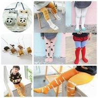 Wholesale Kids Ins Pantyhose Legging Fox Cloud Stripe Toddler Stockings Socks Tights Lovely Pantyhose Pants Trousers Long Socks Pantyhose KKA473