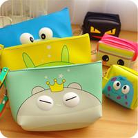 Wholesale Kawaii High capacity Cartoon Makeup Bag Girls Waterproof Hand Purse Bag Cosmetics Storage Bags Casual Toiletry Travel bag