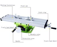 benches work - Mini Multifunctional Cross Working Table For Drilling Milling Machine Bench Vise Mechanic Tools
