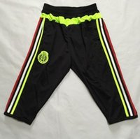 black pants - New Fashion Pants Mexico Training Pants With Pocket Black Size M L XL Mix Order Stitched High Quality