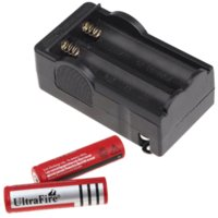 Cheap 2015 New 18650 Battery Universal Charger + 2 * 18650 Li-ion 5000 mAh Rechargeable Battery Free Shipping