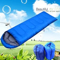 Wholesale Envelope Outdoor Camping Sleeping Bag Thicking and Widen Light Travelling Water proof Office House Driving Afternoon rest Available