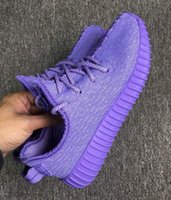 Wholesale 36 BOOSTS PURPLE blue With original shoe box