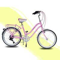 Wholesale City Bike Lady Inch Speed Retro Style Light and Convenient SHIMANO shifting Bike Julie Purple