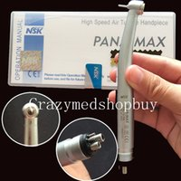 Wholesale 2016 NEW Dental NSK PANA MAX Style Standard Head Push Button High Speed Handpiece Hole
