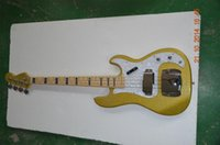 Wholesale string electric bass guitar Precision bass Color custom China factory supply Hot selling Top quality