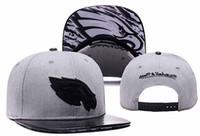 Wholesale 2016 new arrival Eagles Snapback Caps Adjustable All Team Basketball Hats Black Trukfit Hip Hop Snapbacks High Quality Players Sports