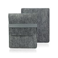 Wholesale Universal Blankets Smart Bag for New Kindle Kindle Paperwhite1 Kindle Voyage Case Cover Gray Color Felt Smart Bag