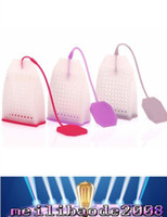 Wholesale Hot Sale New small handbag Tea Bags Strainers Teaspoon Filter Infuser Silica Gel Filtration home accessory MYY