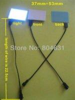Эль подсветка панели RU-EL панель Sheet Pad Back Light Подсветка дисплея / 53мм * 37мм подсветкой дисплей дисплей подсветка дисплея подсветка