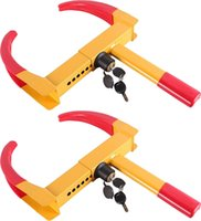 Wholesale 2pcs of Wheel Lock Clamp Boot Tire Claw Auto Car Truck RV Boat Anti Theft Towing