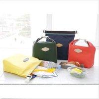El refrigerador térmico aisló el almuerzo de la comida campestre impermeable lleva la caja de la bolsa de la bolsa de la CAJA 5pcs CALIENTES