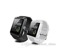 Meilleur smartwatch pour iphone France-Montre intelligente U8 Smart Watch téléphone Bluetooth Mate Smartwatch poignet pour Android iOS iPhone Samsung Livraison gratuite best