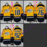 american nashville - nashville predators james neal American Premier Hockey Jerseys Ice Winter Home Away Jersey Stitched Authentic