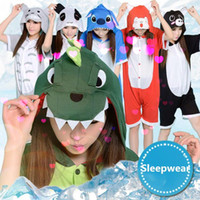 animal onsies - Cartoon Animal One pieces sleepwear Women girl lady cute Cosplay Pajamas Homewear Animal onsies for adult LJJO117