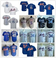 authentic team jerseys - 30 Teams Men s MLB New York Mets Tim Tebow Yoenis Cespedes Majestic Flexbase Authentic Collection Custom Jersey Stitched