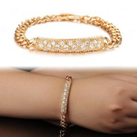 allergies pictures - Fashion Personlity Cool Man Link Chain Bracelet Meterial K Gold Plated Allergy Free Color Gold Quantity Piece Measurement as picture