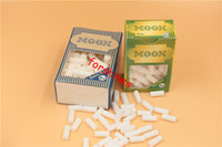 environmental paper - 5000pcs epacket to USA uk mm mm Sponge Filters Environmental Moon Cigarette Filter Tips for Smoking Rolling Papers vapor