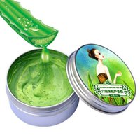 Wholesale 60g Nature Aloe Vera Gel Soothing Moisturizing Whitening Cream Anti Acne Face Care Sextuple Condensed