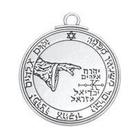amulets talisman - Moon Talisman Key of Solomon Seal pendants Amulet Magical protection health
