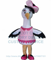 anime swan - miss swan mascot costume factory cartoon white swan bird theme anime cosply costumes stage performing carnival fancy dress
