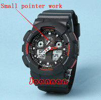 Wholesale aaa top quality relogio Ga100 box men s sports watches Luxury men watch LED chronograph wristwatch military watch digital watch