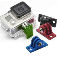 aluminium skateboard - Portable Durable Aluminium Low Angle Skateboard Surfboard Mount Adapter Mini Tripod For Gopro Hero Camera