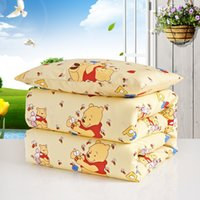 Wholesale Kids Silk Filling Quilt Pure Handmade Mulberry Silk Filling Comforter Children Size Cartoon Cover cm kg