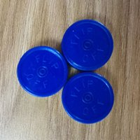 Wholesale 5000pcs Blue Flip off cap Aluminum plastic cap Flip off cap tear off cap