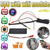 Cheap 1920*1080P Mini Camera SPY Hidden Camera Video Wifi P2P DIY Module Mini DV DVR Wireless IP Spy Surveillance Camera S06