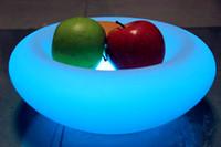 Wholesale Colorful LED fruit plate