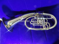 Wholesale F Bb Wagner Horn Lacquer finish With Foambody case Factory Supply Musical Instrument by EMS