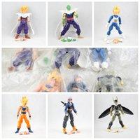 Wholesale dragon ball set Dragonball Z Dragon Ball DBZ Anime cm Goku Vegeta Piccolo Gohan super saiyan Joint Movable Action Figure Toy in stock