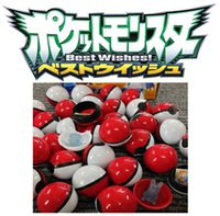Wholesale Best selling ABS classic Action Anime Figures Poke balls PokeBall Fairy Ball Super Ball Master Ball Kids Toys Gift children game